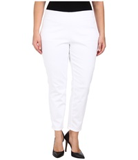 Jag Jeans Plus Size Peri Straight In White White Women's Jeans