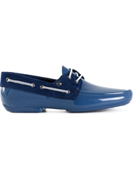 Vivienne Westwood Lace Up Loafers Blue