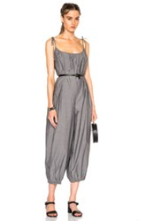 Maryam Nassir Zadeh Delfina Jumpsuit In Black Gray