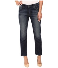 Joe's Jeans Ex Lover Straight Ankle In Camille Camille Women's Orange