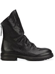 Chuckies New York Ruched Ankle Boots Black