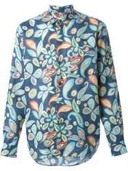 Our Legacy Flower Print Shirt