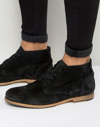 Shoe The Bear Oliver Suede Lace Up Boots Black
