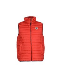 North Sails Coats And Jackets Down Jackets Men Red