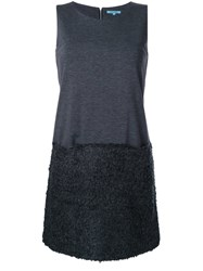 Guild Prime Textured Mini Dress Grey
