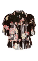 Ulla Johnson Liv Ruffle Floral Blouse