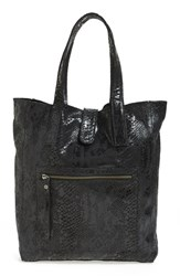 Day And Mood Nola Leather Tote None Snake