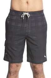 Men's Tommy Bahama 'Baja Plaid' Board Shorts