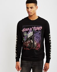 Eleven Paris Guns 'N' Roses Long Sleeve T Shirt Black