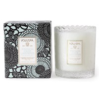 Voluspa Japonica Scalloped Candle French Cade And Lavender