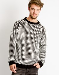 Cheap Monday Zoom Jumper Black White