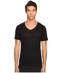 Atm Anthony Thomas Melillo Modal V Neck T Shirt Black Men's T Shirt