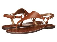 Sam Edelman Greta Soft Saddle New Tumbled Leather Women's Sandals Brown