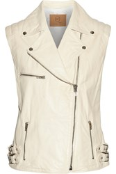 Mcq By Alexander Mcqueen Leather Vest White