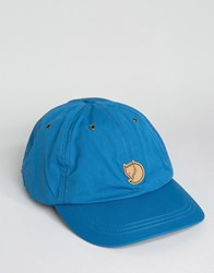 Fjall Raven Fjallraven Helags Cap In Blue Blue