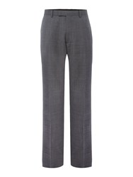 Howick Men's Tailored Gibson Check Suit Trouser Grey