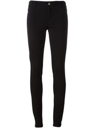 Versace Jeans Back Logo Skinny Trousers Black
