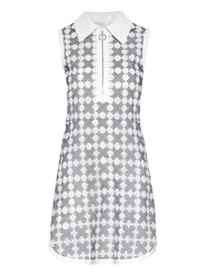 Chloe Broderie Anglaise Embroidered Shirtdress