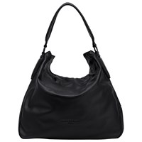 Liebeskind Yokohama Vintage Leather Hobo Bag Ninja Black