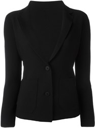 Issey Miyake Cauliflower Two Button Blazer Black