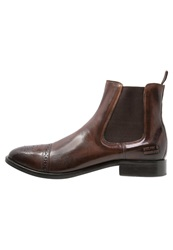 Melvin And Hamilton Tom Boots Crust Dark Brown