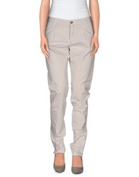 Good Mood Trousers Casual Trousers Women Dove Grey