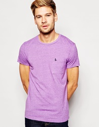 Jack Wills T Shirt In Lavender
