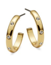 Kate Spade Infinity And Beyond Goldtone Small Hoops