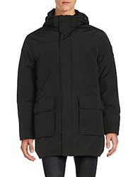 Calvin Klein Hooded Anorak Jacket Black