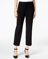 Styleandco. Style Co. Slim Fit Cropped Pants Only At Macy's Deep Black