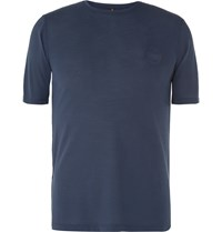 Iffley Road Cambrian Dri Release Running T Shirt Navy