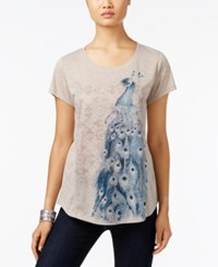 Styleandco. Style Co. Peacock Graphic T Shirt Only At Macy's Stonewall