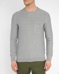 Harris Wilson Grey Ismael Pocket Sweater
