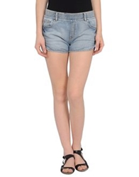 Eleven Paris Denim Shorts Blue