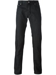 Jacob Cohen 'Comfort' Slim Fit Jeans Black