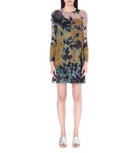 Raquel Allegra Tie Dye Silk Dress Multi Tie Dye