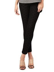 Phase Eight Victoria Geo Flocked Jeans Black
