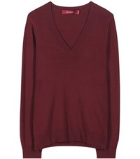 Sies Marjan Wool And Cashmere Blend Sweater Purple