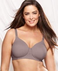 Vanity Fair Full Figure Back Smoother Wireless Bra 71380 Walnut