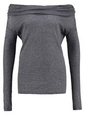 United Colors Of Benetton Long Sleeved Top Grey