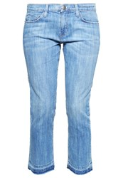 Current Elliott Straight Leg Jeans Marfa Blue Denim