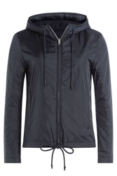 Closed Zipped Outdoor Jacket Blue