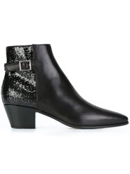 Saint Laurent 'Rock' Ankle Boots Black