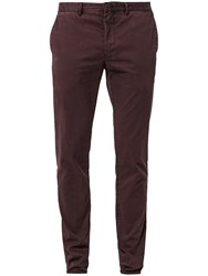 Marc O'polo Malmo Stretch Twill Fabric Chino Red