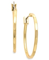 Charter Club Gold Tone Hoop Earrings