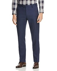Brooks Brothers Houndstooth Regular Fit Trousers Navy Houndstooth