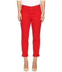 Nydj Alina Convertible Ankle In Sweet Strawberry Sweet Strawberry Women's Jeans Red