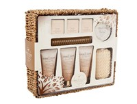 Grace Cole Warm Vanilla And Fig Pure Heaven Basket Set