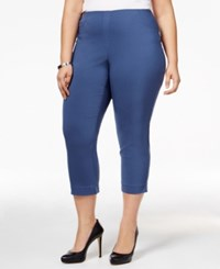 Styleandco. Style Co. Plus Size Capri Pants Only At Macy's New Uniform Blue