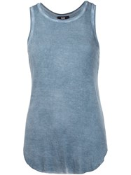 Paige Classic Tank Top Blue